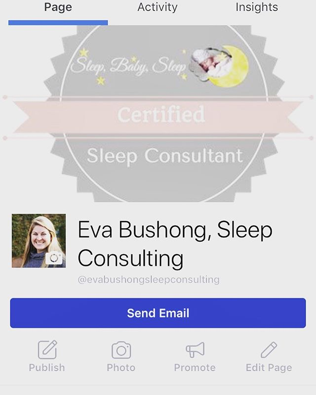We are happy to share with you all that we have a Certified Sleep Consultant! Go give Eva's Sleep Consulting Facebook page a follow!  We will have a sleep training course for mommas to attend after the new year....stay tuned for more information.  As for now, Eva is giving a special discount for the first 5 clients booked!