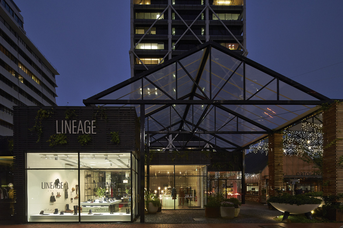 Lineage store at the Pavilions ,Britomart