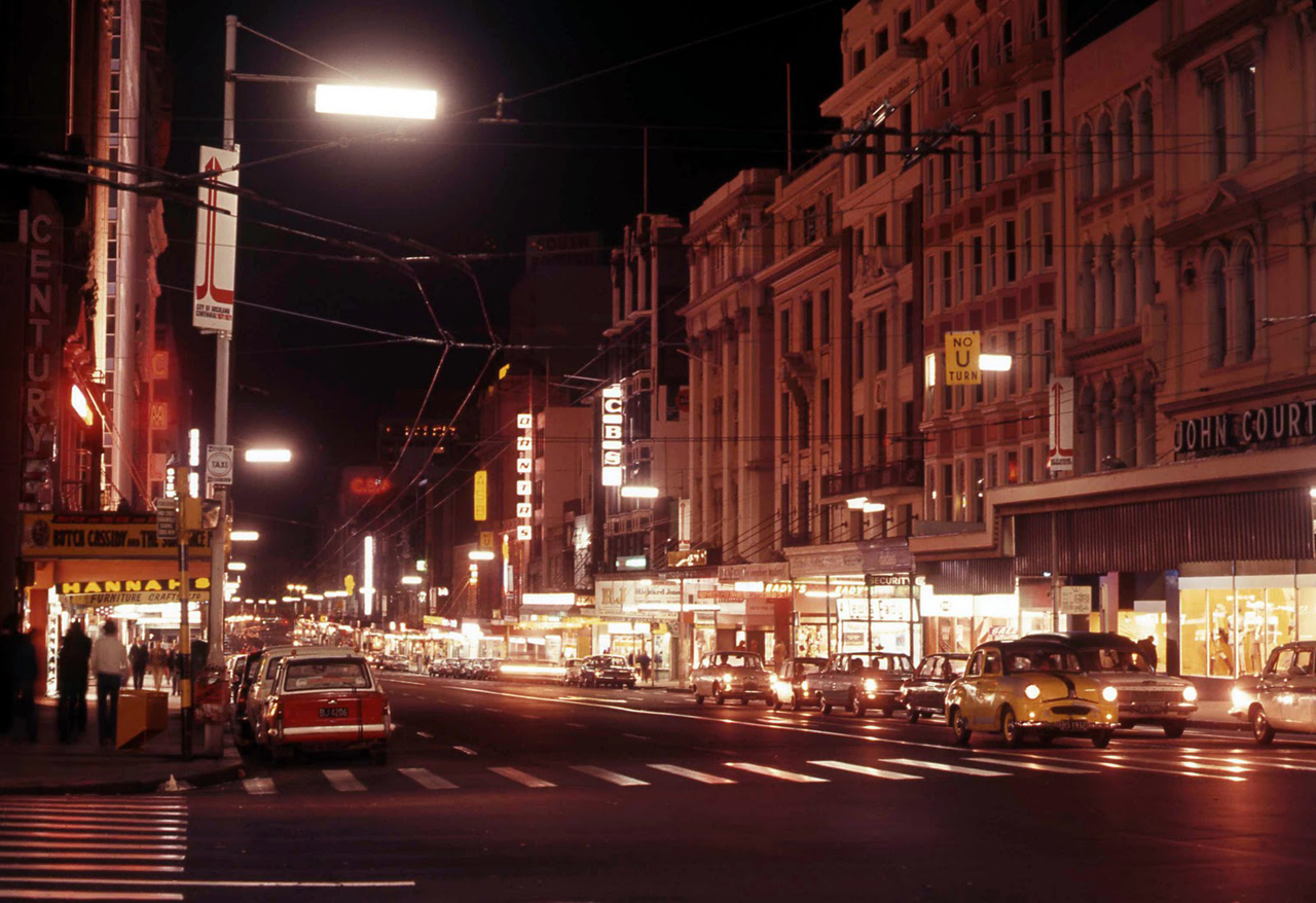 Queen St circa 1970s
