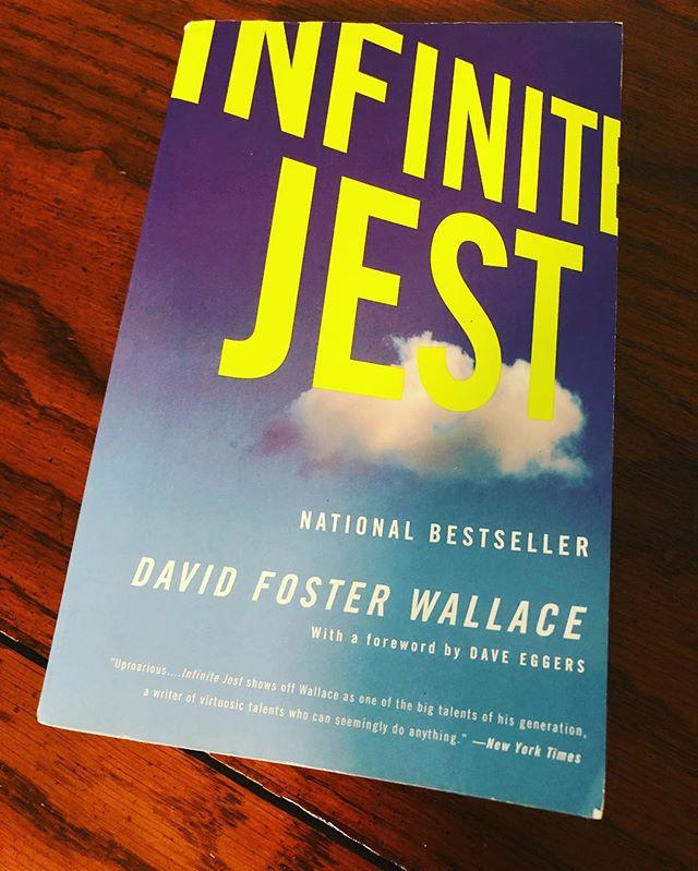 #facultybookclub #summerreading #davidfosterwallace #infinitejest #bucketlist #persistence