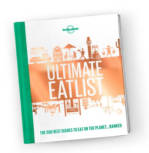Text:   Ultimate Eatlist  , Lonely Planet.