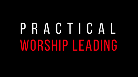 practical worship leading   This 3-8 hour teaching is designed to aid the serious worship leader in his or her attempt to lead God's people in anointed worship of their Lord and Savior.  For more information, please click  here .