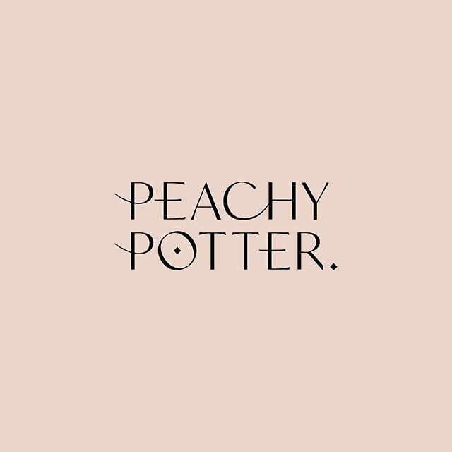 Final logo / brand mark, and one of the illustrations we're finishing up for our Hong Kong based client @peachy__potter — a stealth, high-end cannabis line marketed towards women who like to keep things chic 👌🏼