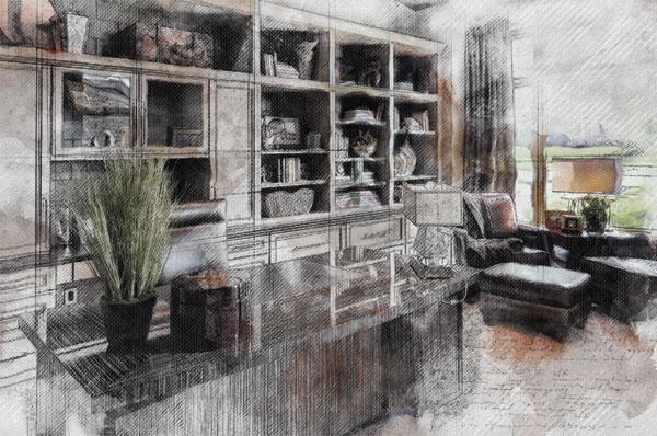 LA-Home-Builders-Lincoln-NE-Great-Spaces-Sketch-600x398.jpg