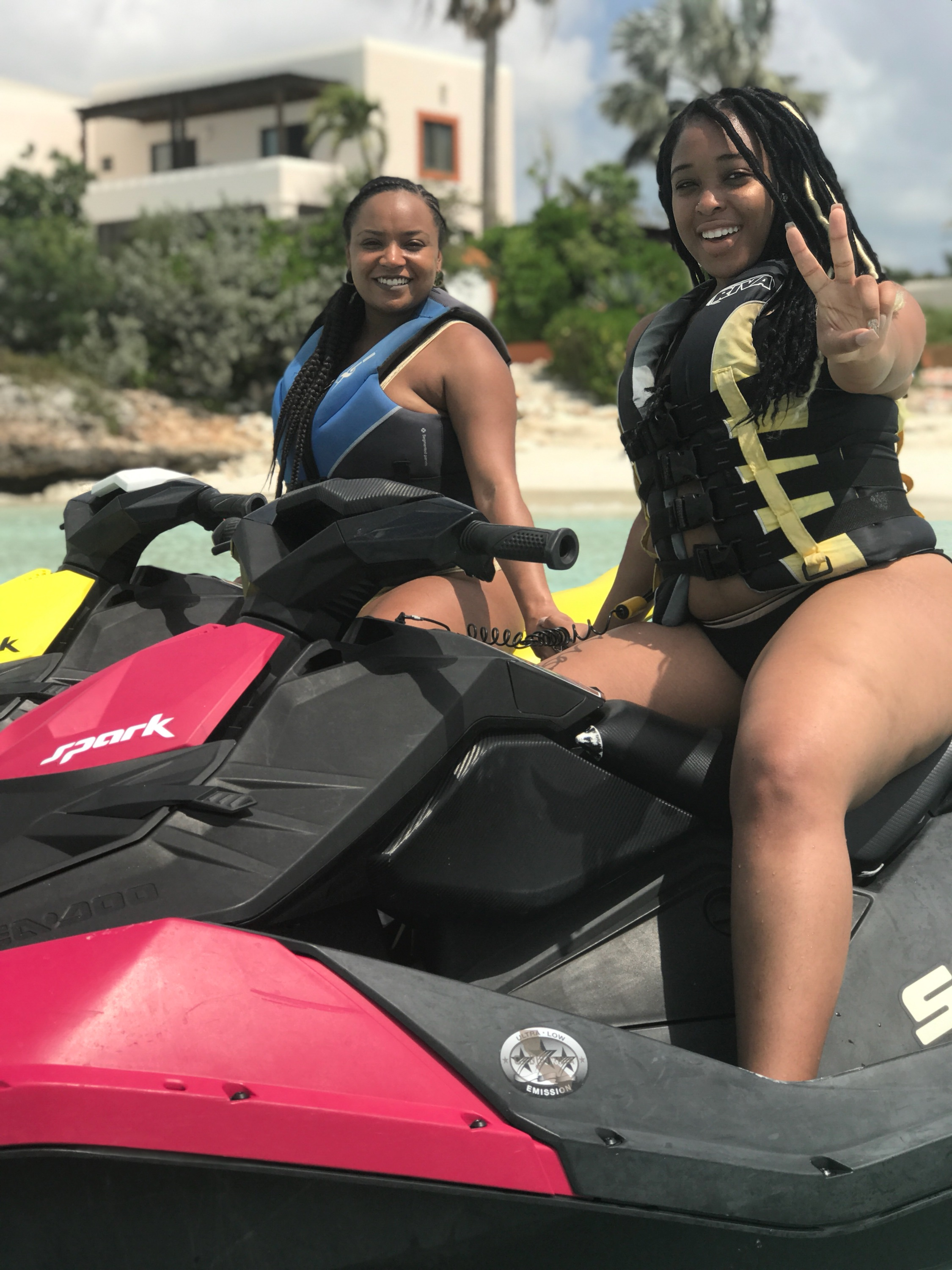 Jet skis and snap shot courtesy of Rent-A-Ski! Make sure you hit them up if you go!