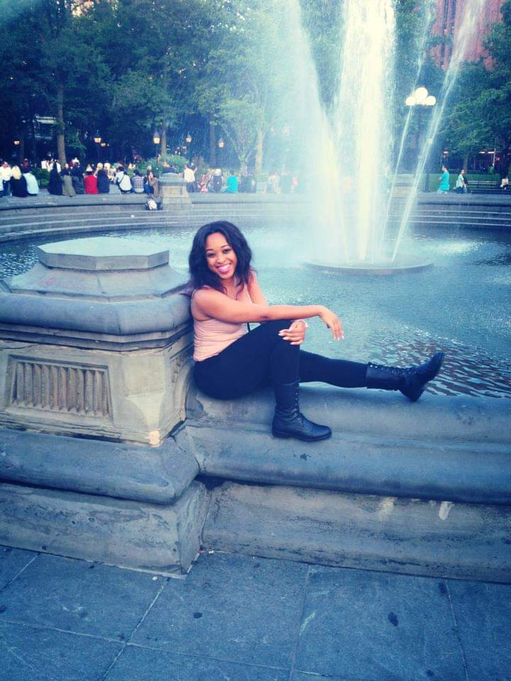 Me, in Washington Square Park 6 years ago getting my life.