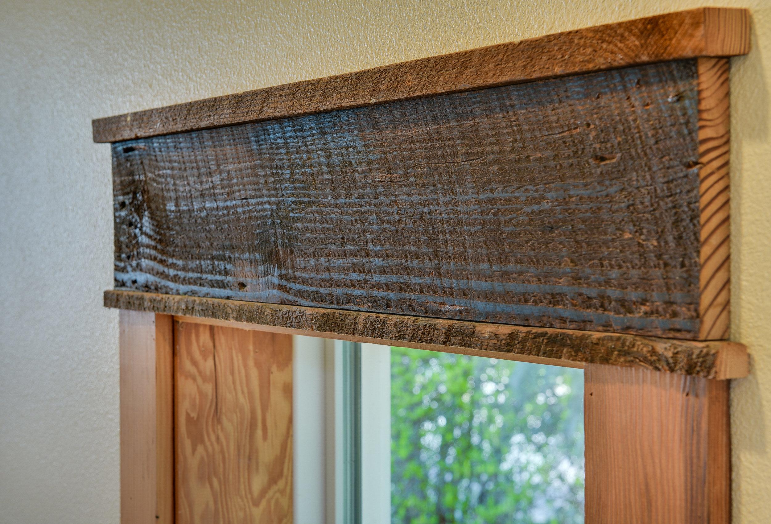 Window reclaimed trim