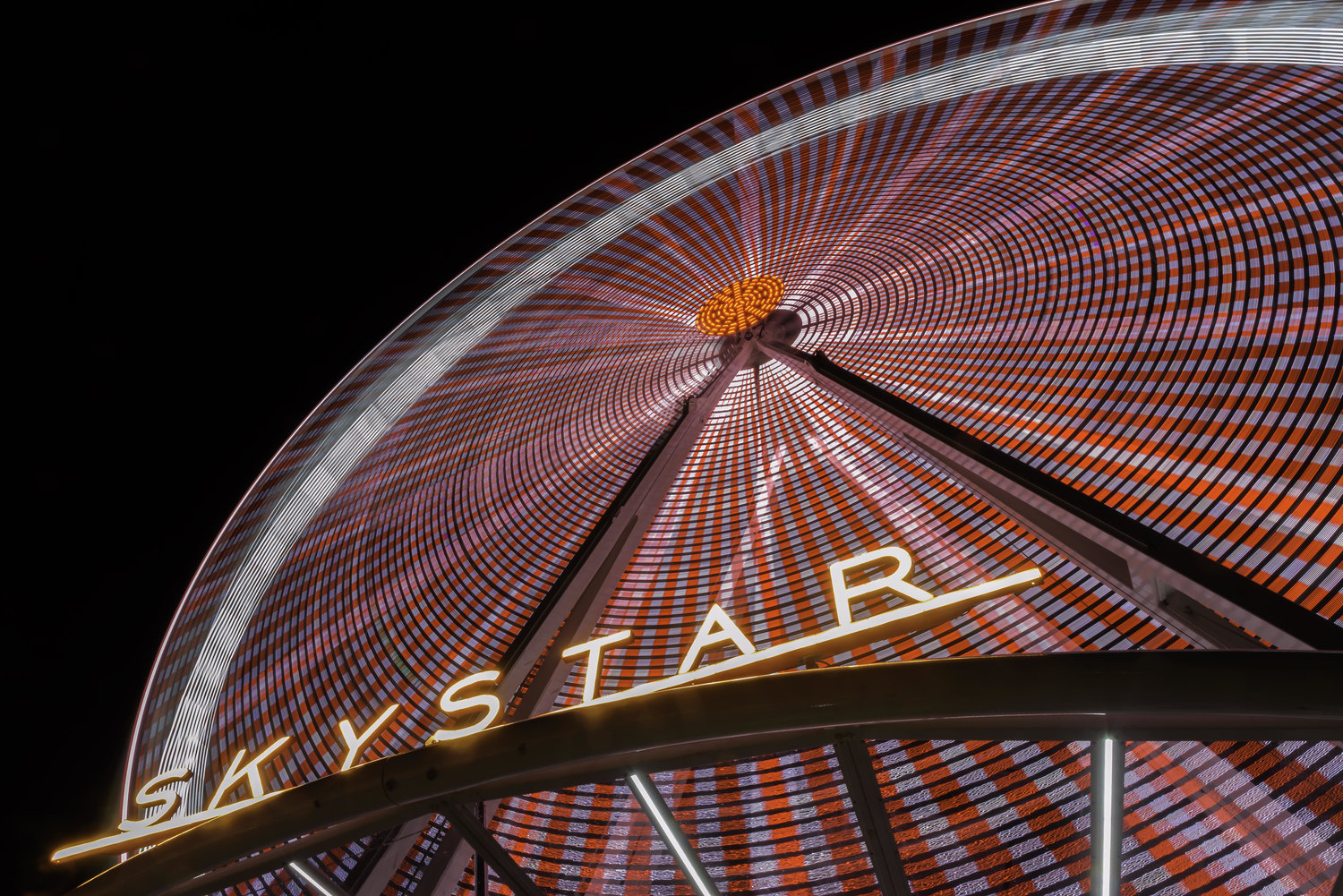 #SkyStarWheel - THE SKYSTAR OBSERVATION WHEEL IS EQUIPPED WITH 36 CLIMATE-CONTROLLED GONDOLAS. EACH GONDOLA CAN HOLD UP TO 6 PEOPLE. GUESTS ARE TREATED TO SPECTACULAR VIEWS AS THEY SOAR NEARLY 15 STORIES OVER CINCINNATI'S RIVERFRONT PARK!