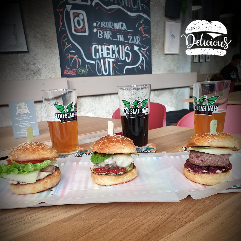 Degustacija burgerjev in craft piva - Petek, 1.2.2019 ob 19h v Zbornici