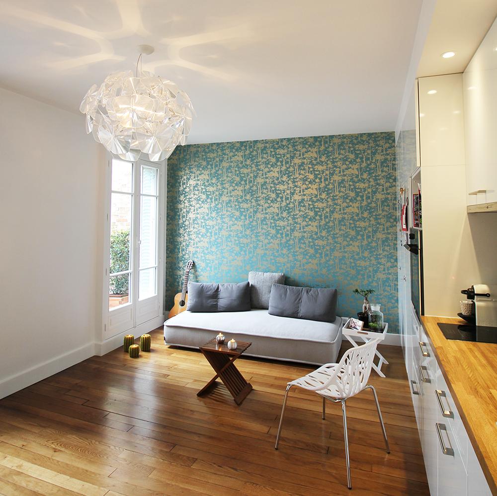 Home sweet home (rénovation d'un appartement) - Paris 16ème