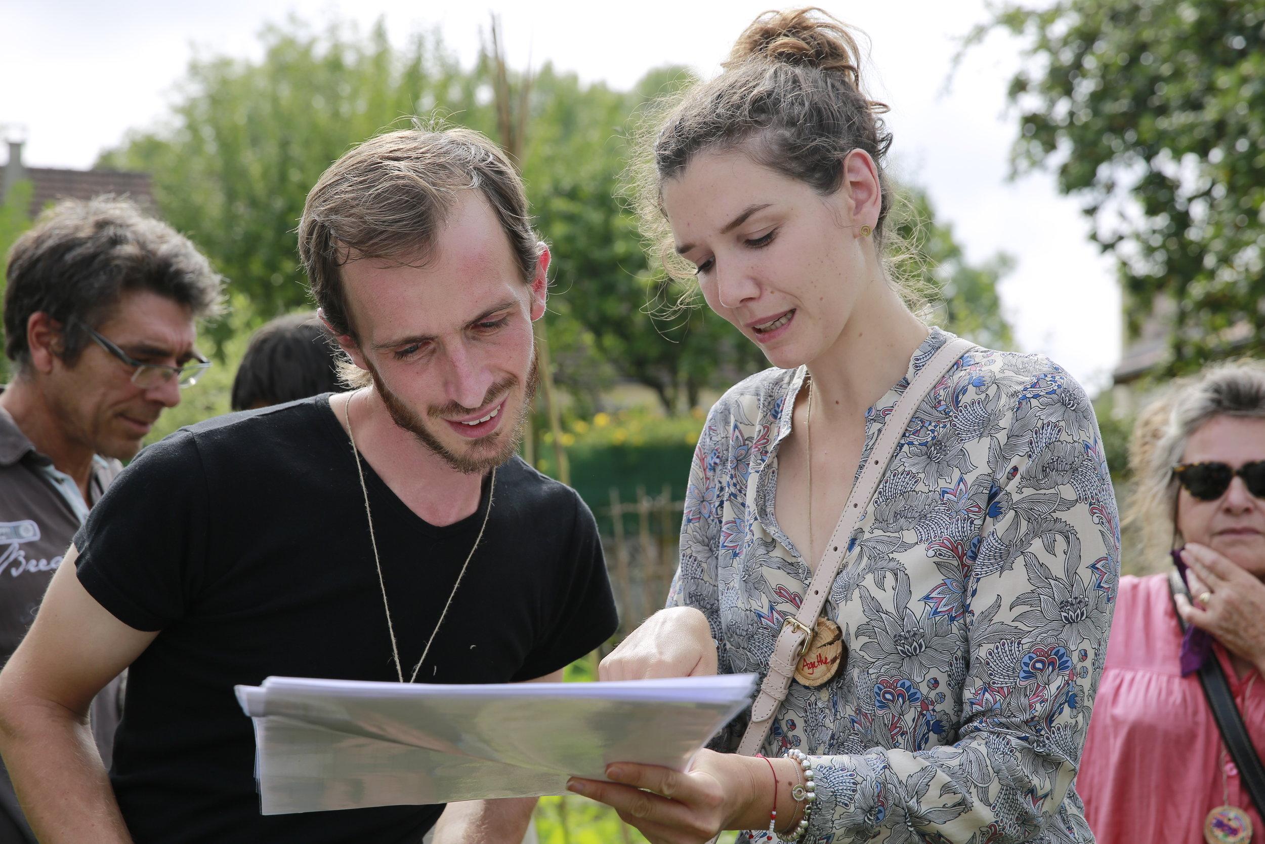 Inauguration du Jardin des Marcus (Rencontre nationale de la permaculture) - Blog