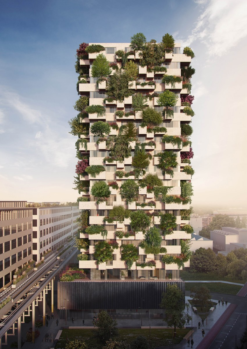 TRUDO VERTICAL FOREST | crédits photo : Stefano Boeri Architetti