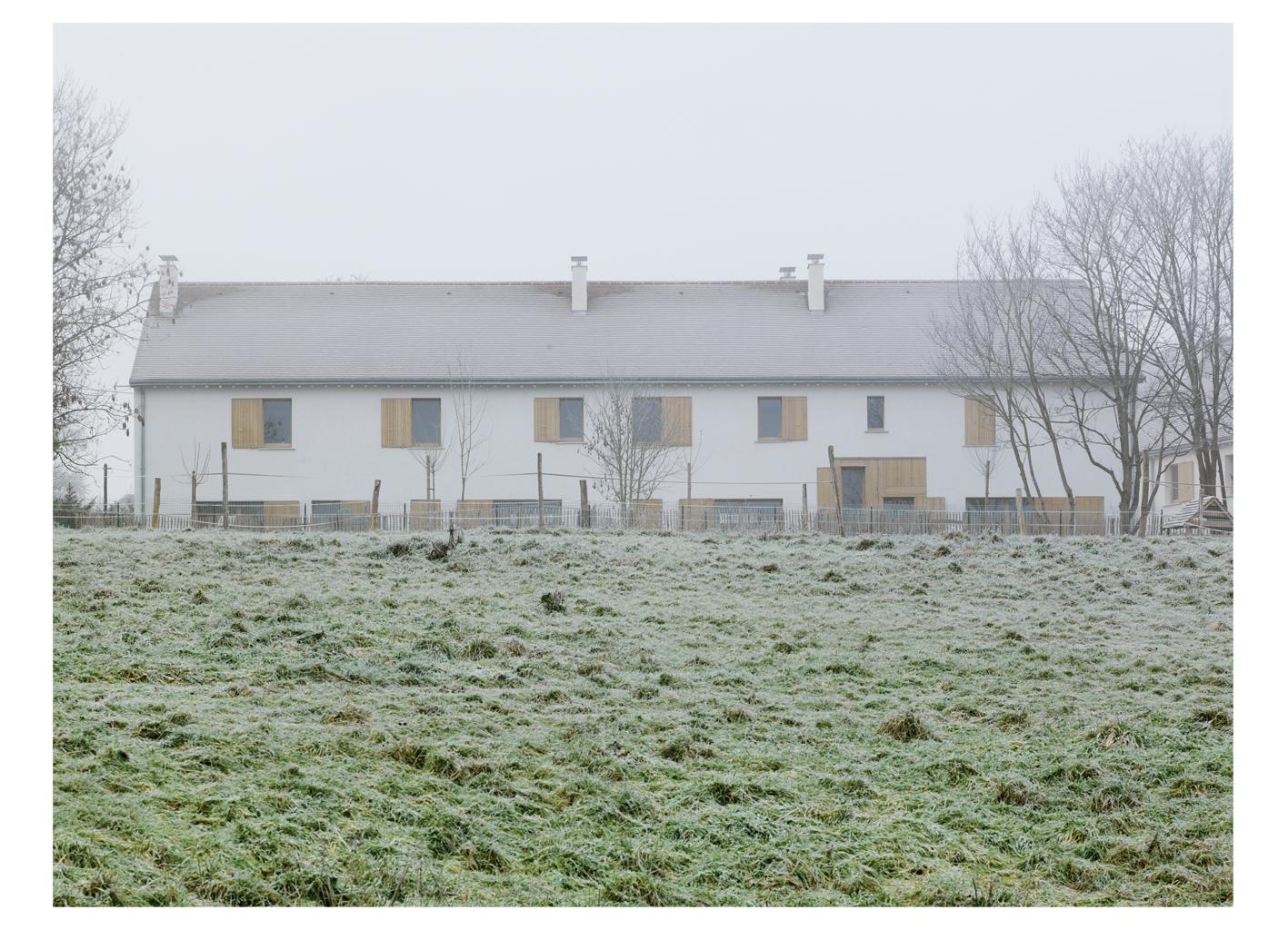 LOGES EN JOSAS   crédits photo : Dumont Legrand architectes
