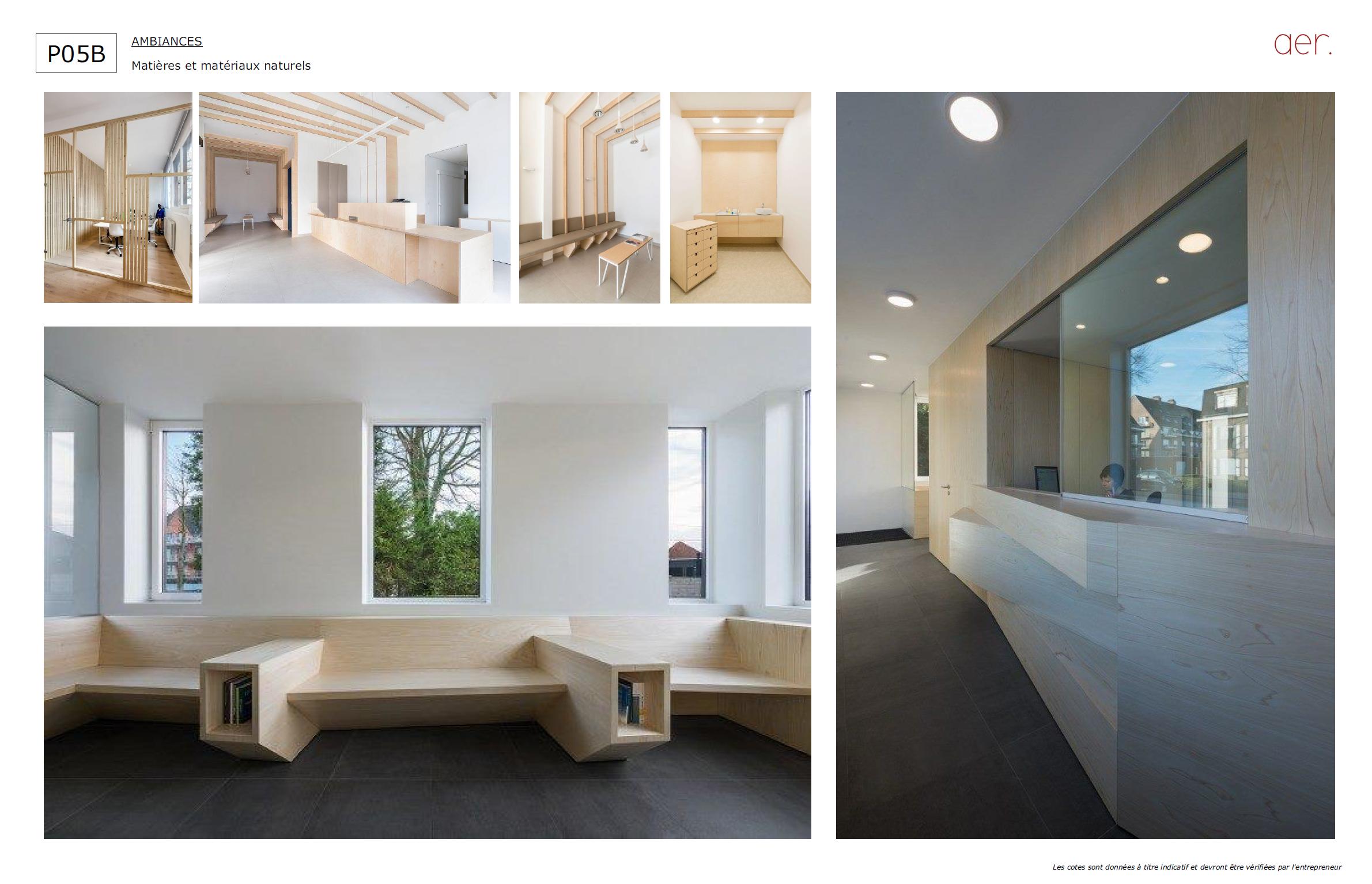 MOOD BOARD : MATERIAUX BRUTS | crédits photo : AER Architecture