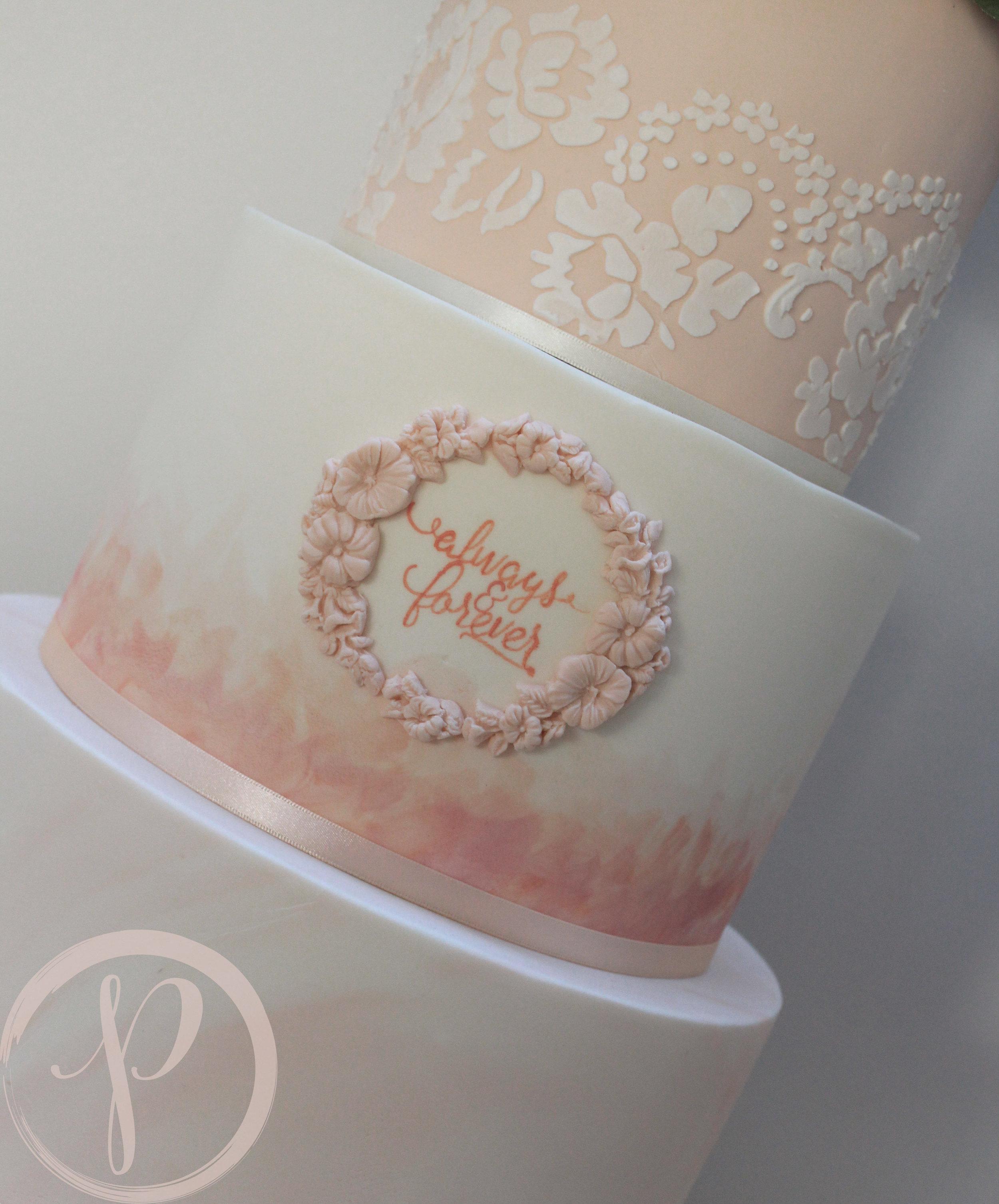 peach marble watercolour wedding cake.jpg