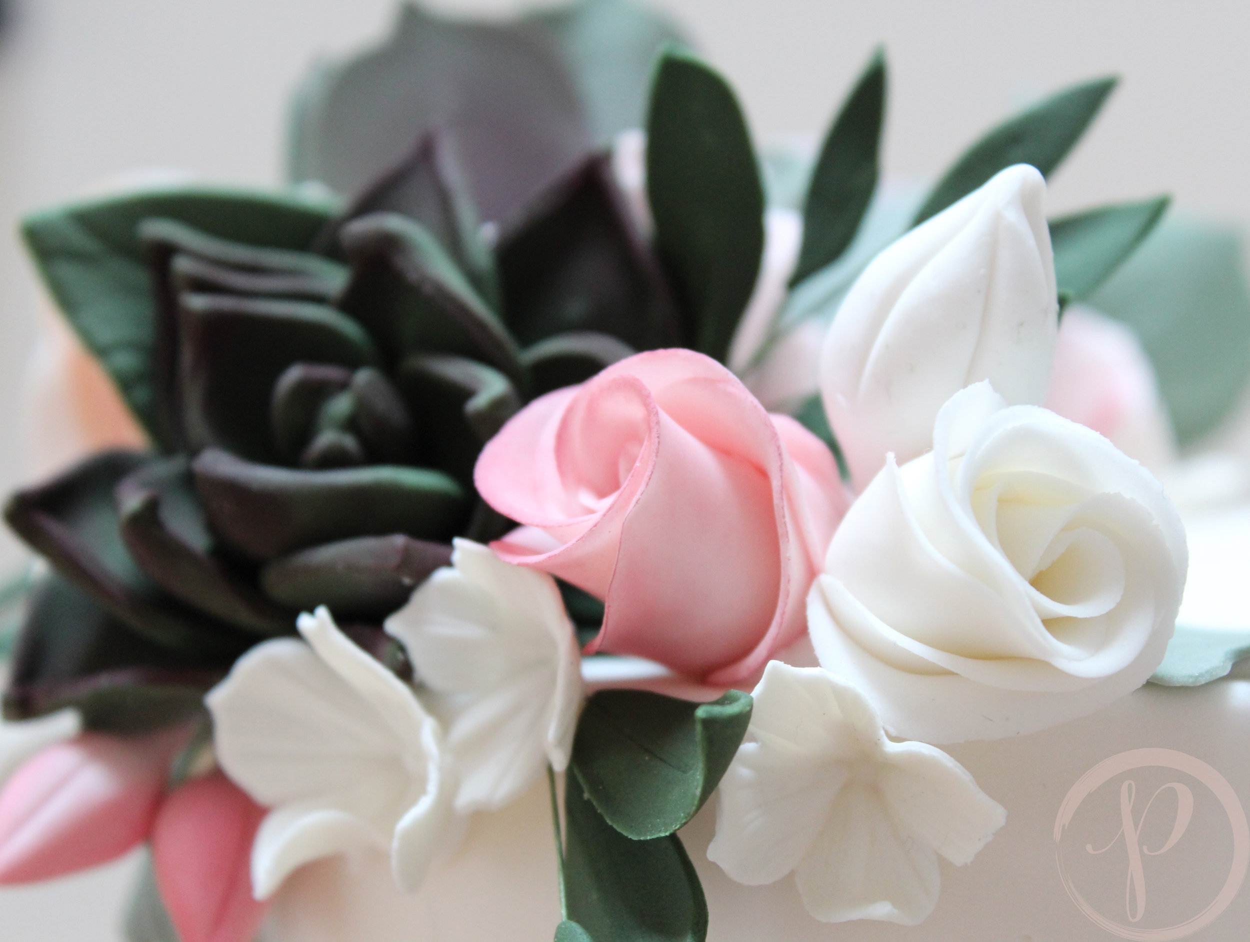 sugar flowers succulents blush roses.jpg