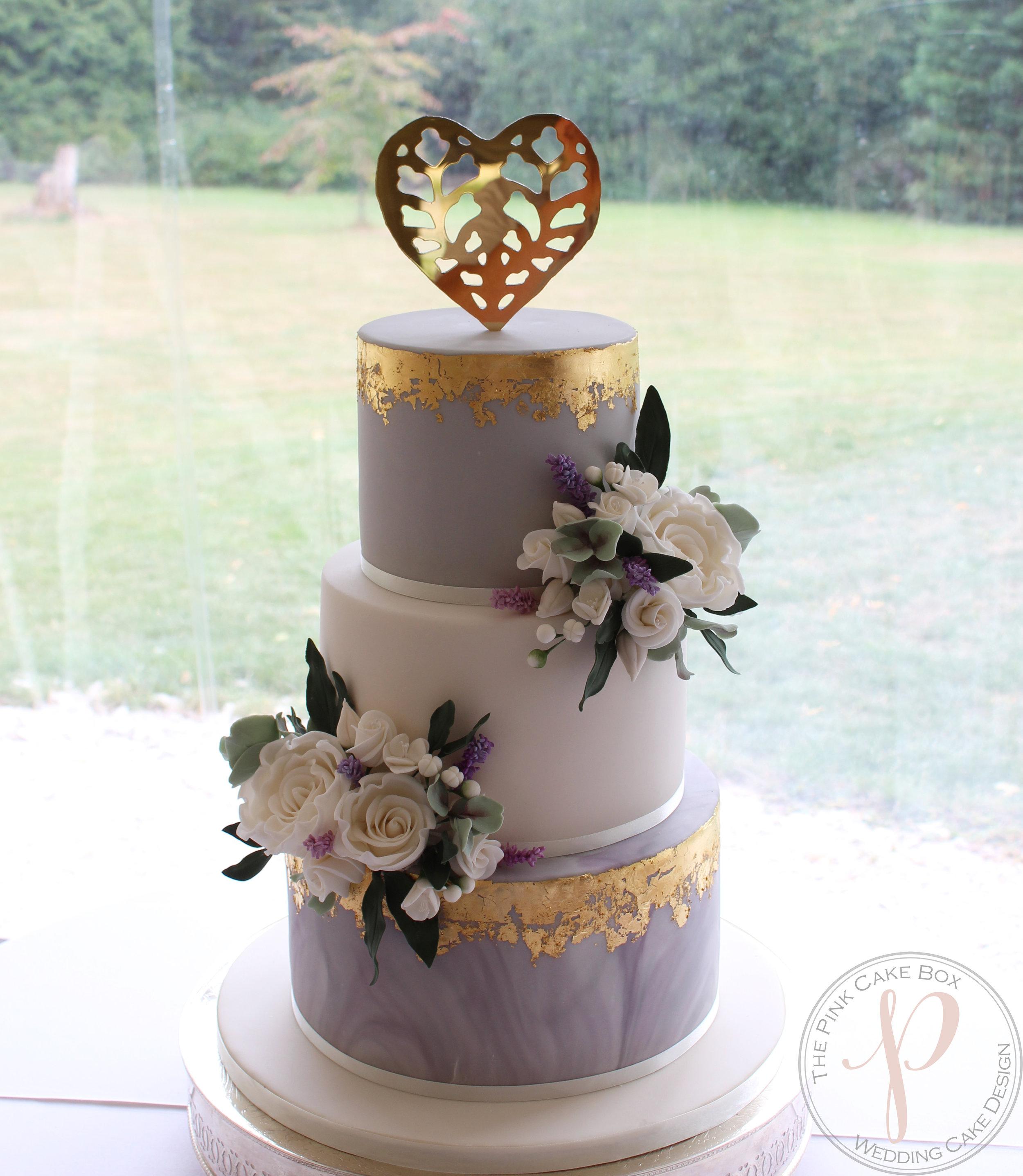 grey marble gold leaf wedding cake.jpg