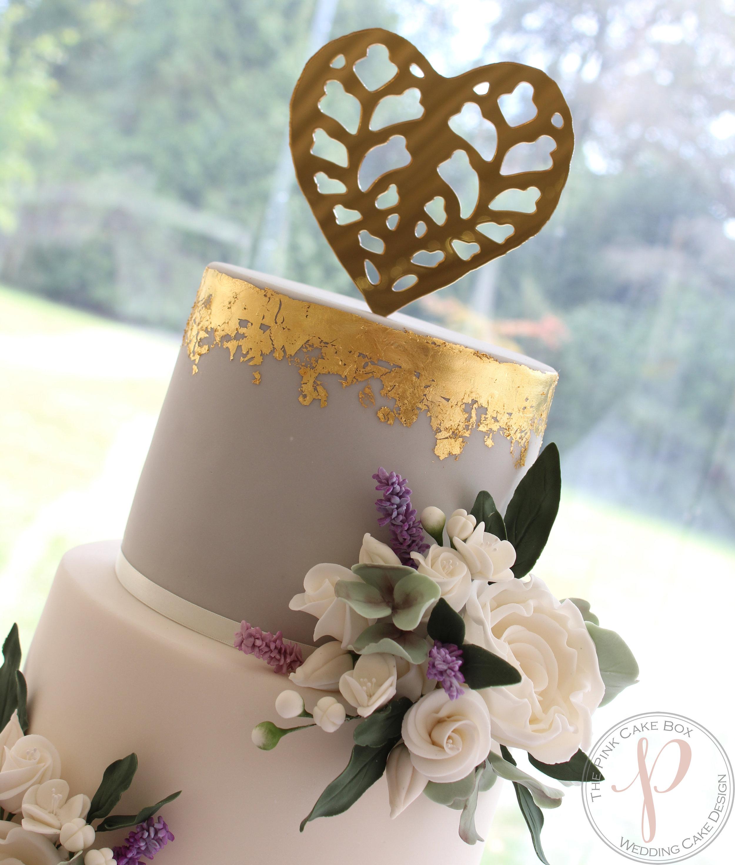 grey gold wedding cake sugar flowers.jpg