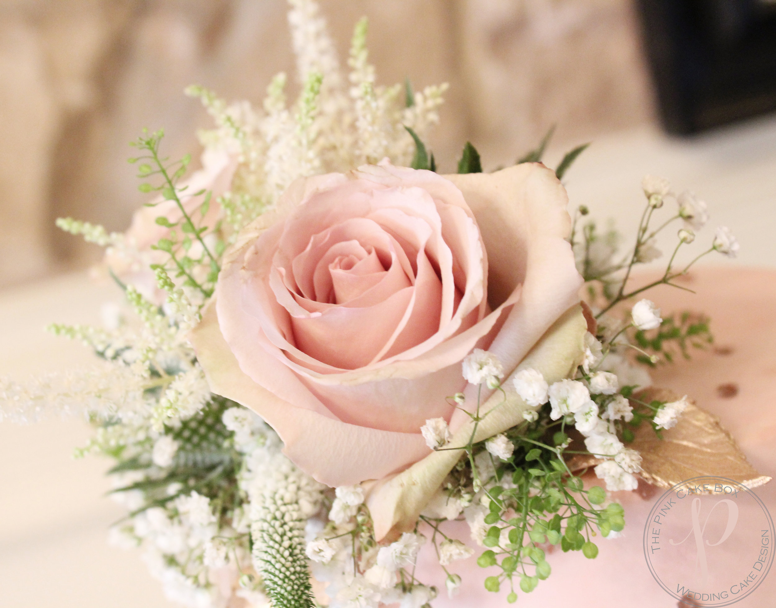 fresh flowers blush rose gold wedding.jpg