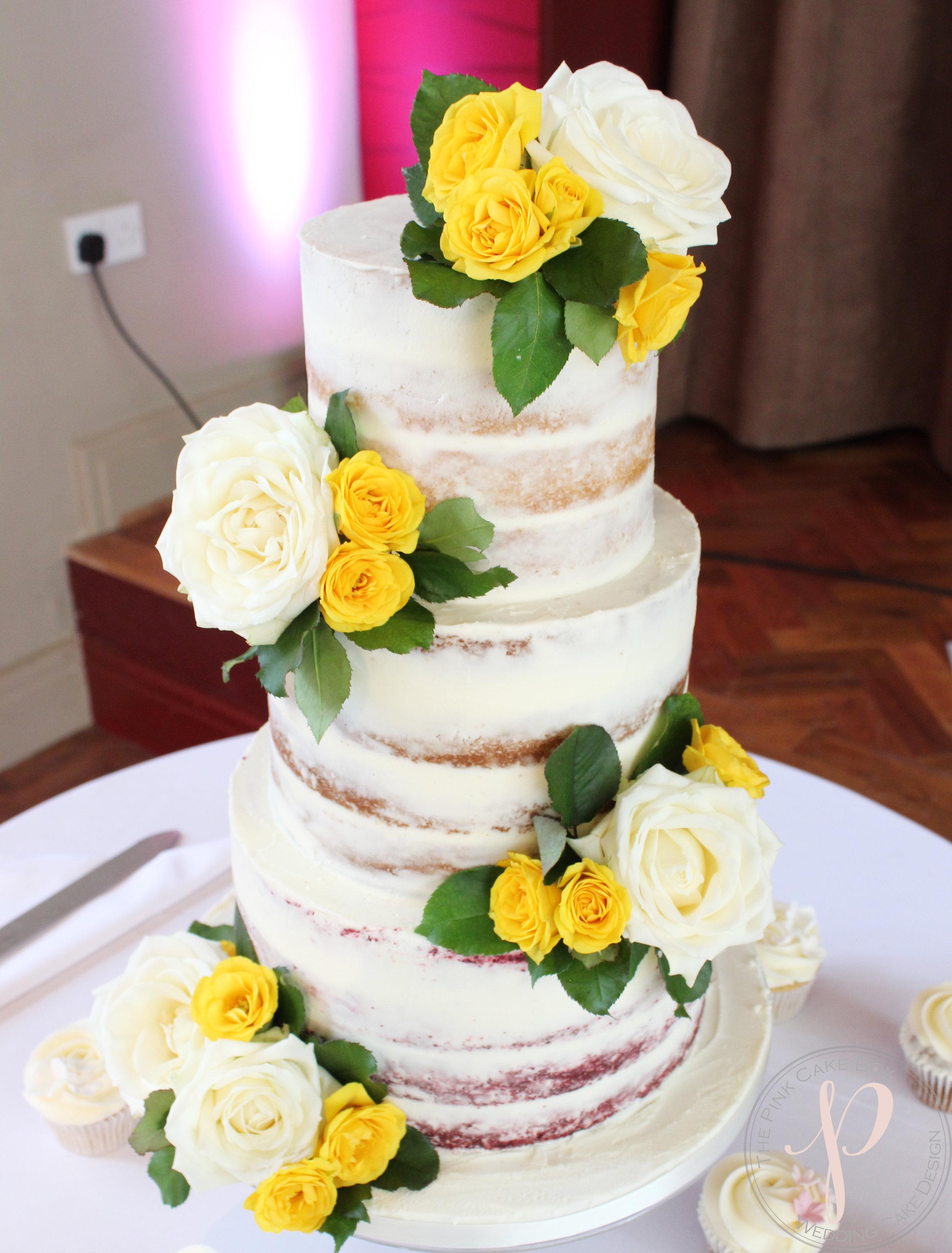 yellow ivory wedding cake semi naked.jpg