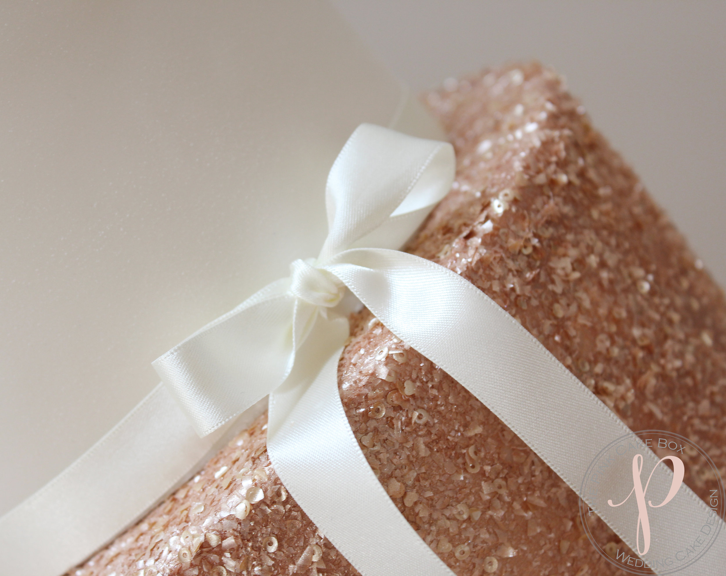 rose gold wedding cake bow.jpg