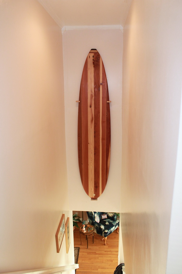 About our little shop - Handmade surf decor from us to you.