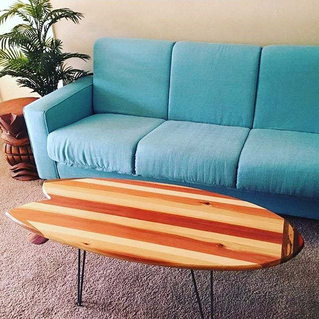 Surfboard Tables
