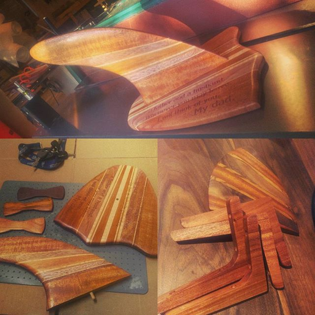 couple of things for pops! can't forget the man who made you who you are! #surf #sup #goodvibes #father #woodworking