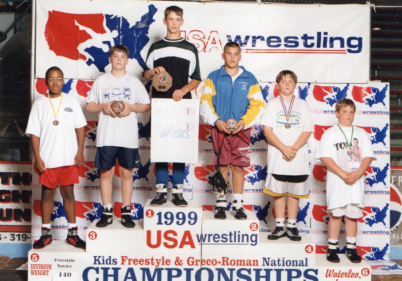 He placed third in a nationwide wrestling competition only a few weeks before his life changed forever.  (image supplied)