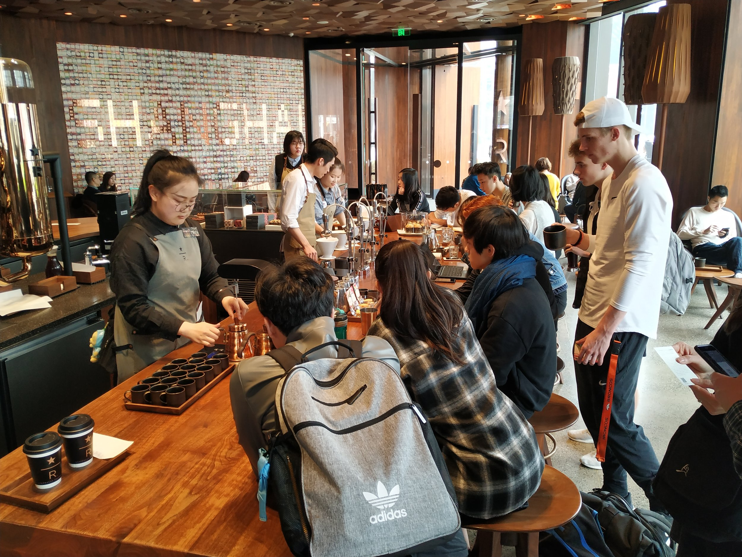 A coffee tasting for Applied Chemical Engineering students featured Ethiopian coffee prepared three different ways.