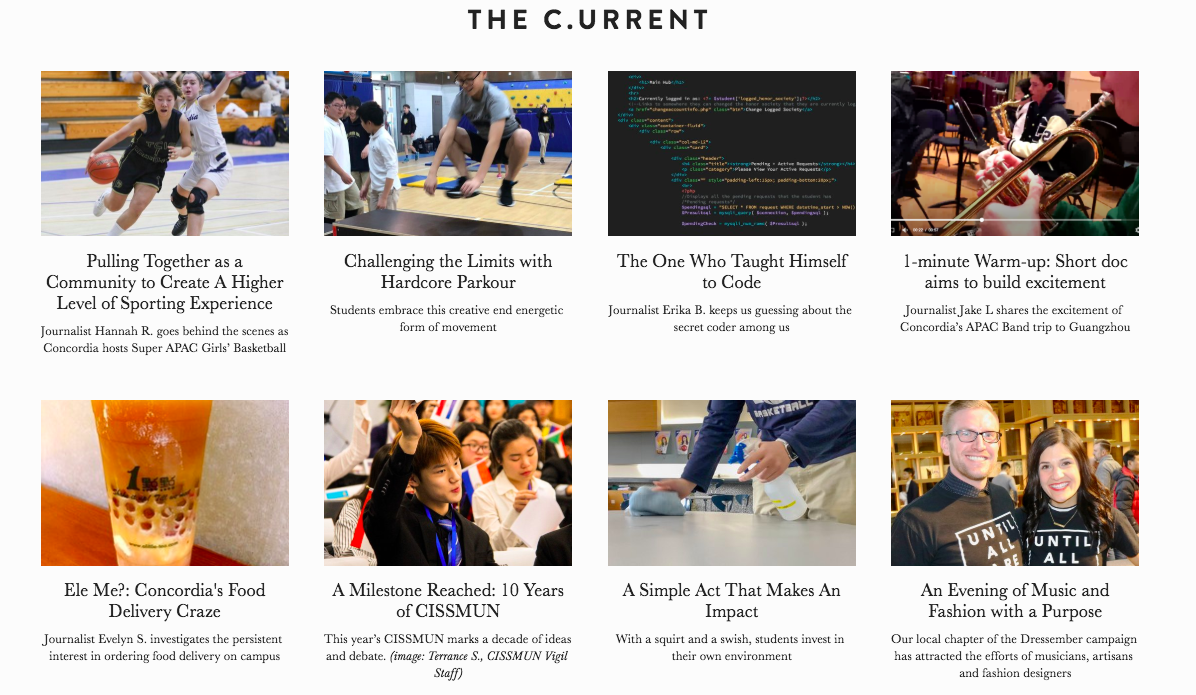 Some recent articles by Applied Journlism students on Citizen C.