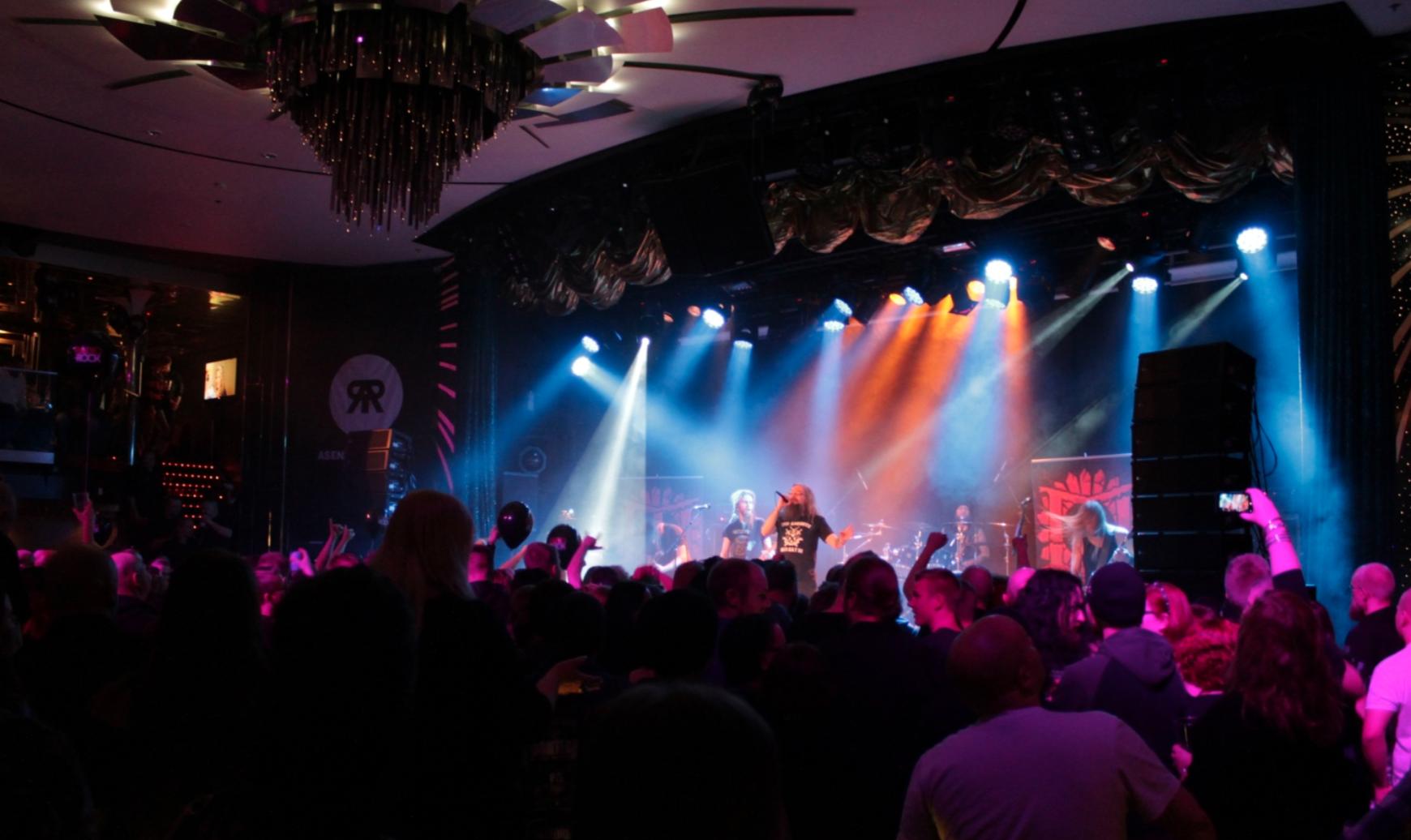 Radio Rock -risteily helmikuussa 2015.