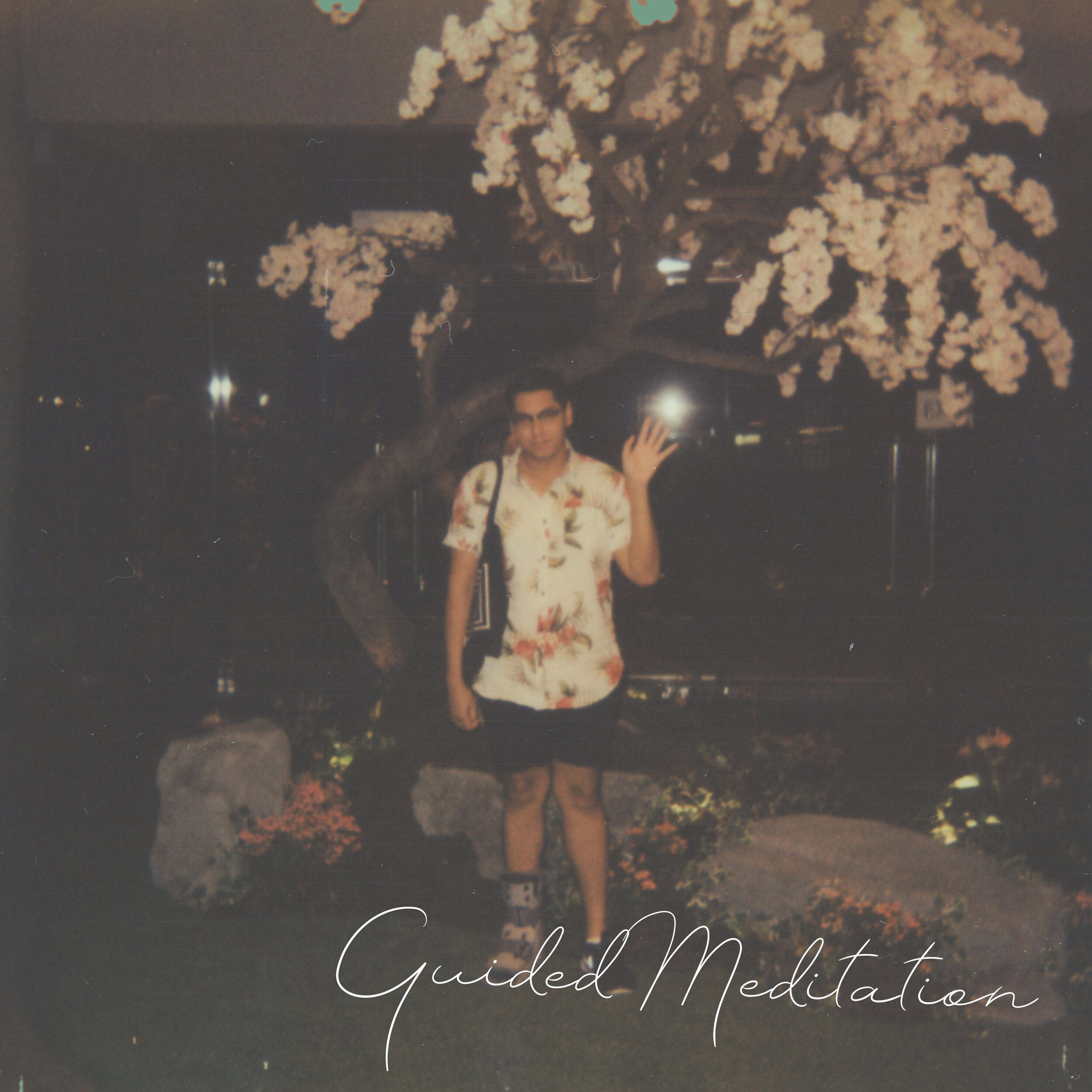 Guided Meditation - Guided Meditation will be venturing through an eclectic mix of jazz, boss nova, contemporary classical music and 60s pop ballads. He hopes for the music to sit comfortably in the background, where conversations take precedence – crafting the atmosphere for the rest of the evening.
