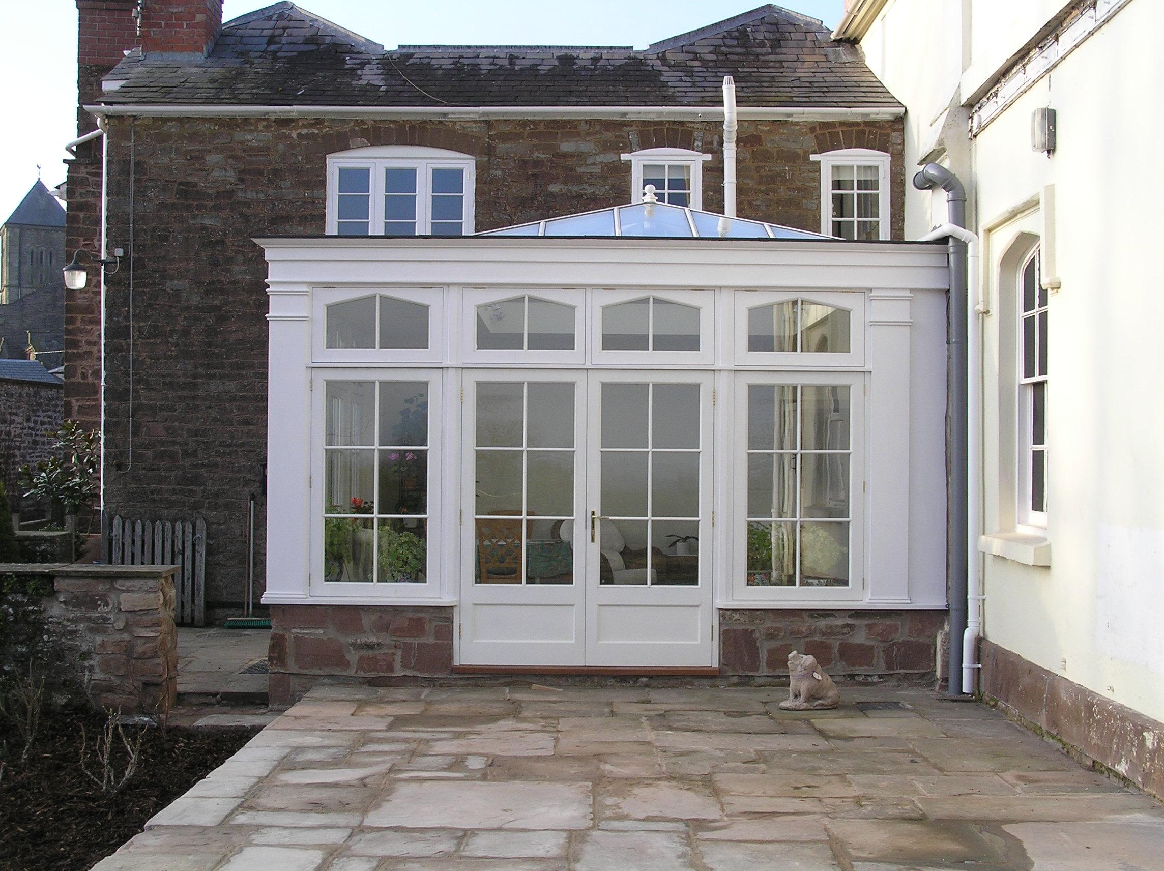 Handmade Bespoke  Joinery Hereford Carpentry Carpenters Hardwood Oak Windows Doors Kitchens Stairs