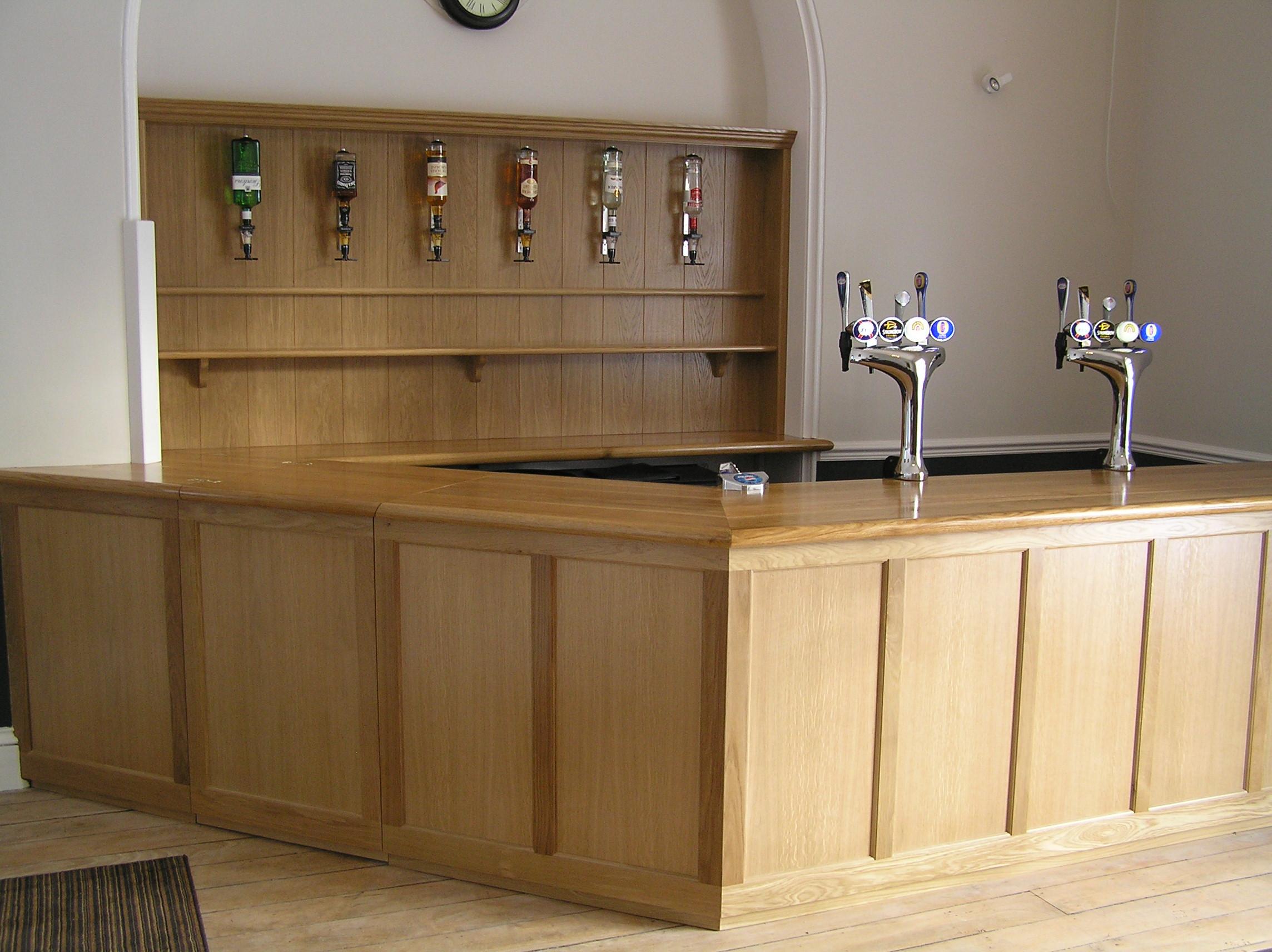 Oak bar for Pengethley manor hotel
