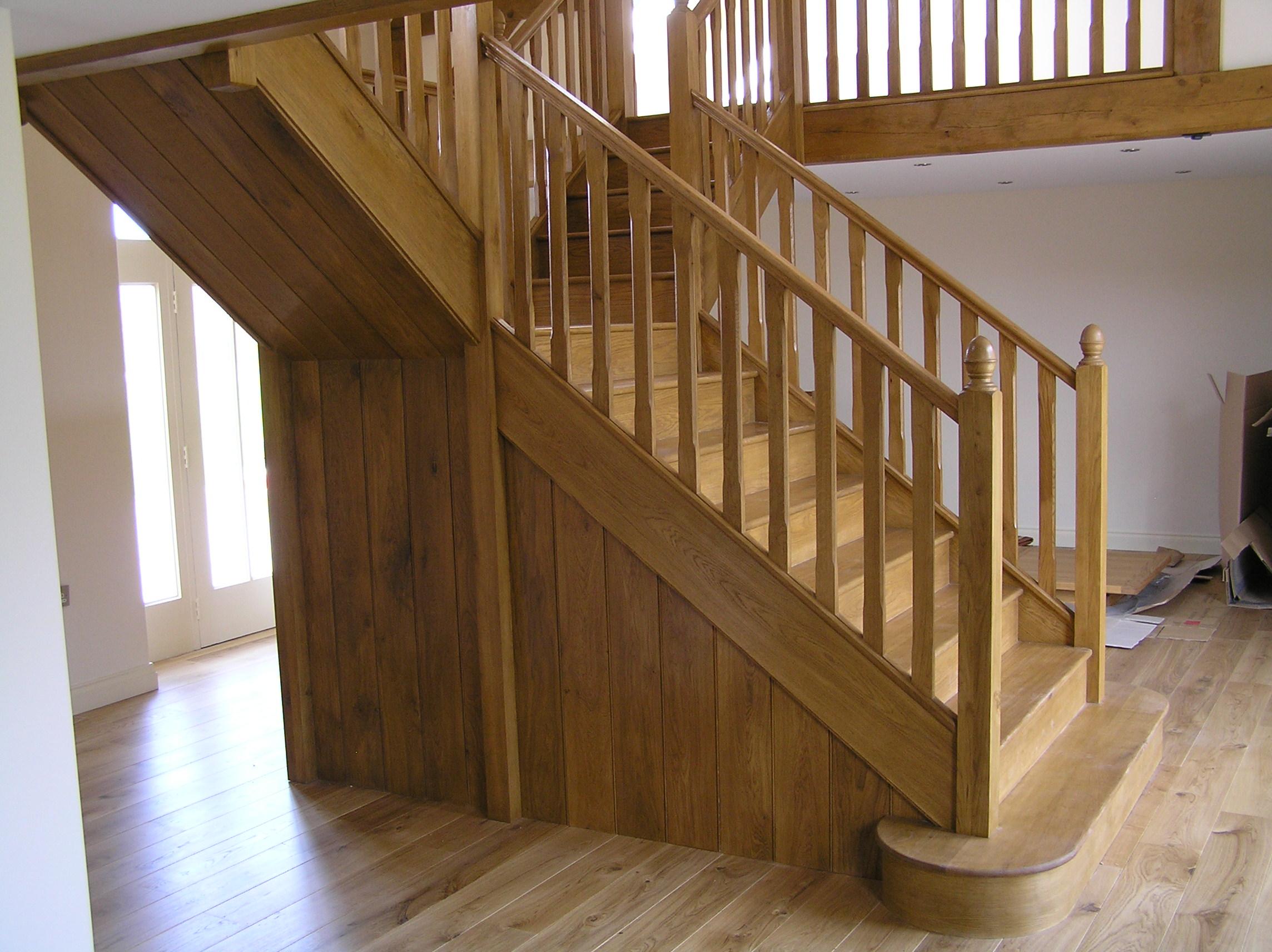Large Oak staircase