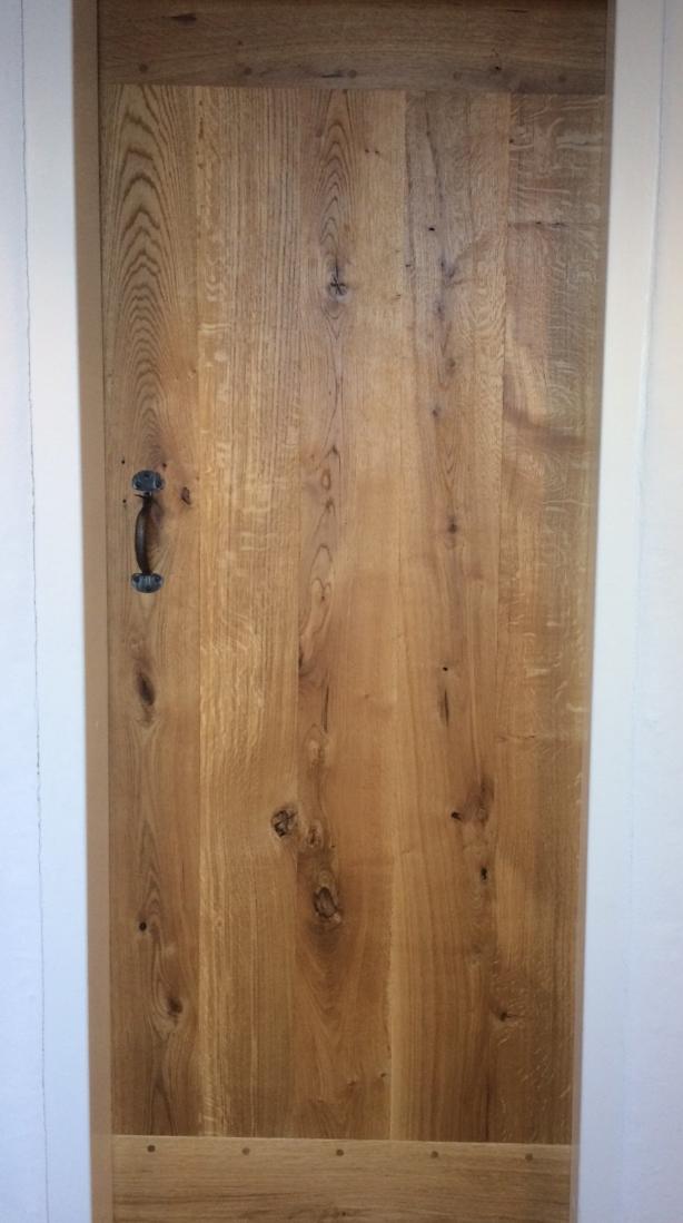 Oak boarded door Hereford