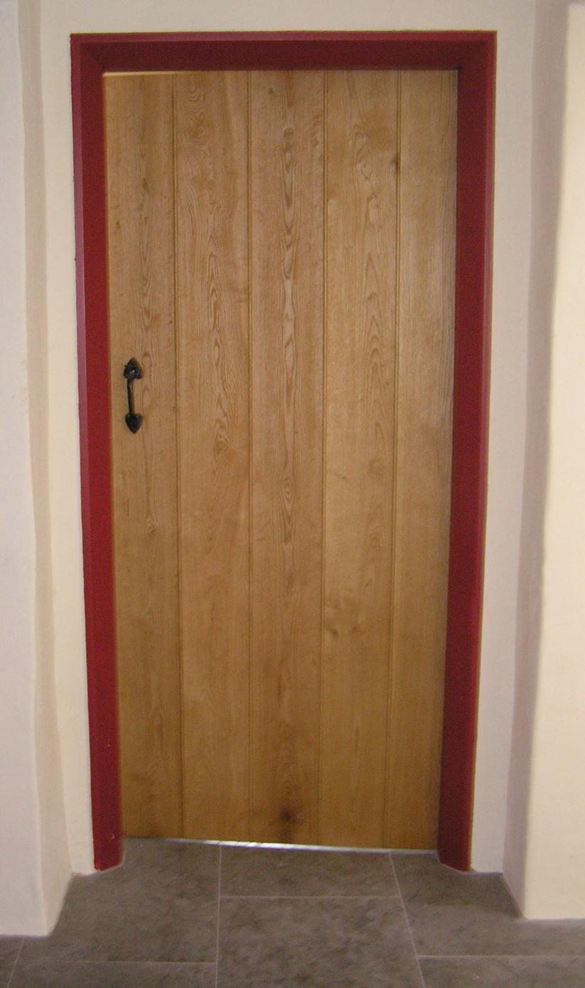 Hardwood ledge and braced door Hereford