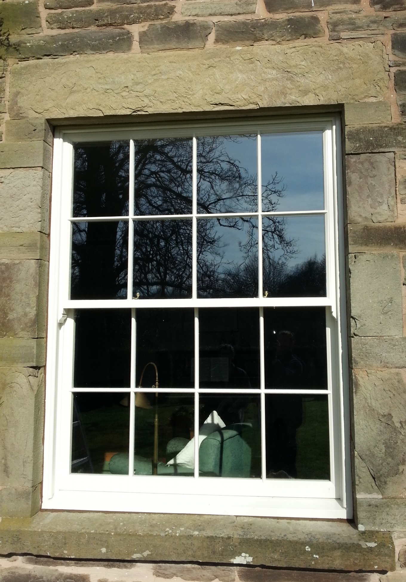 Sash window Hereford
