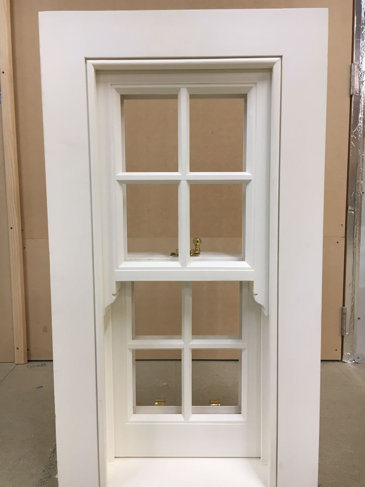 Timber Sash window painted in Herefordshire