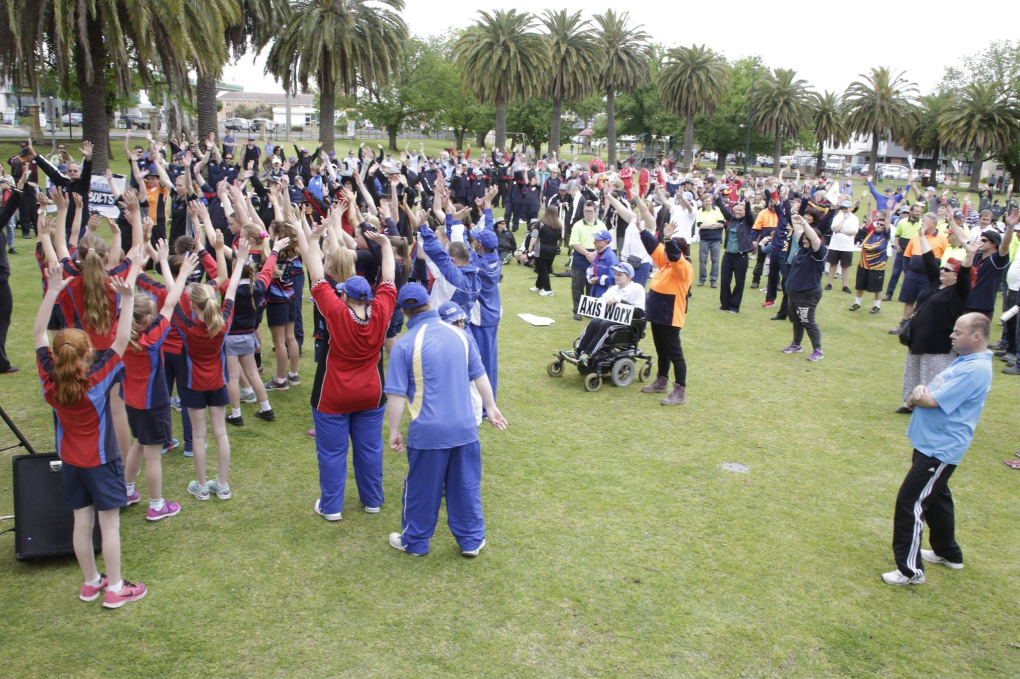 Annual week long sporting event for people with disabilities. -