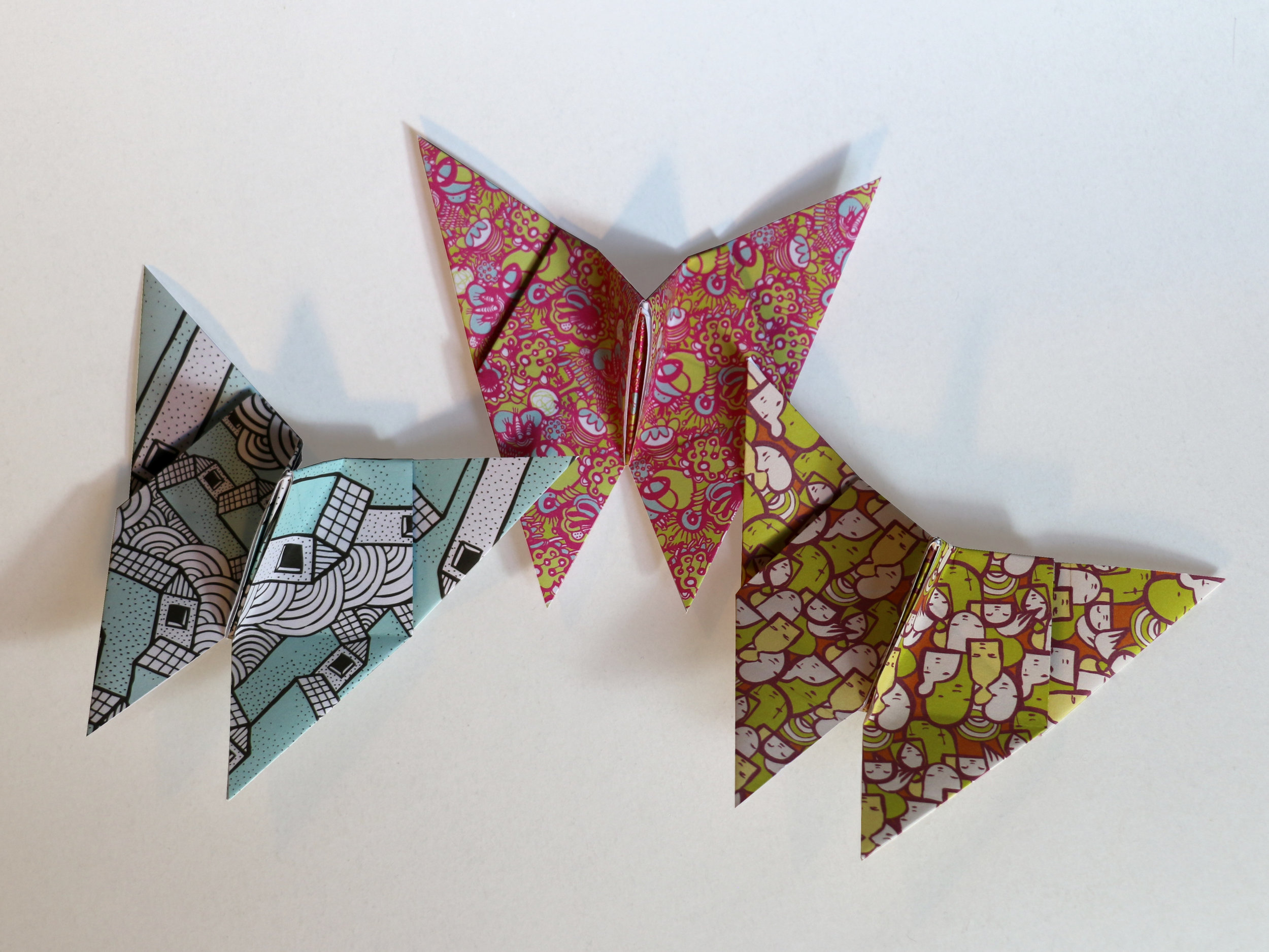 Designer Pattern Origami Paper - A cutting edge range of exclusive designs, made with sustainably sourced, FSC-certifed paper