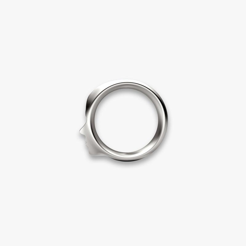 SILHOUETTE© RING Edelstahl/stainless steel