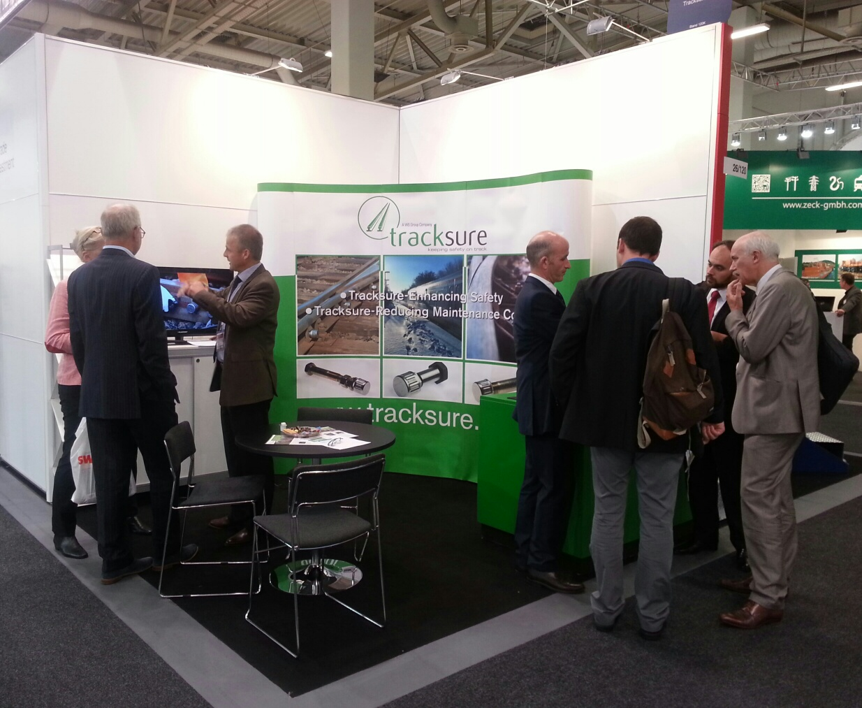 Tracksure at the Innotrans exhibition, Berlin 2016