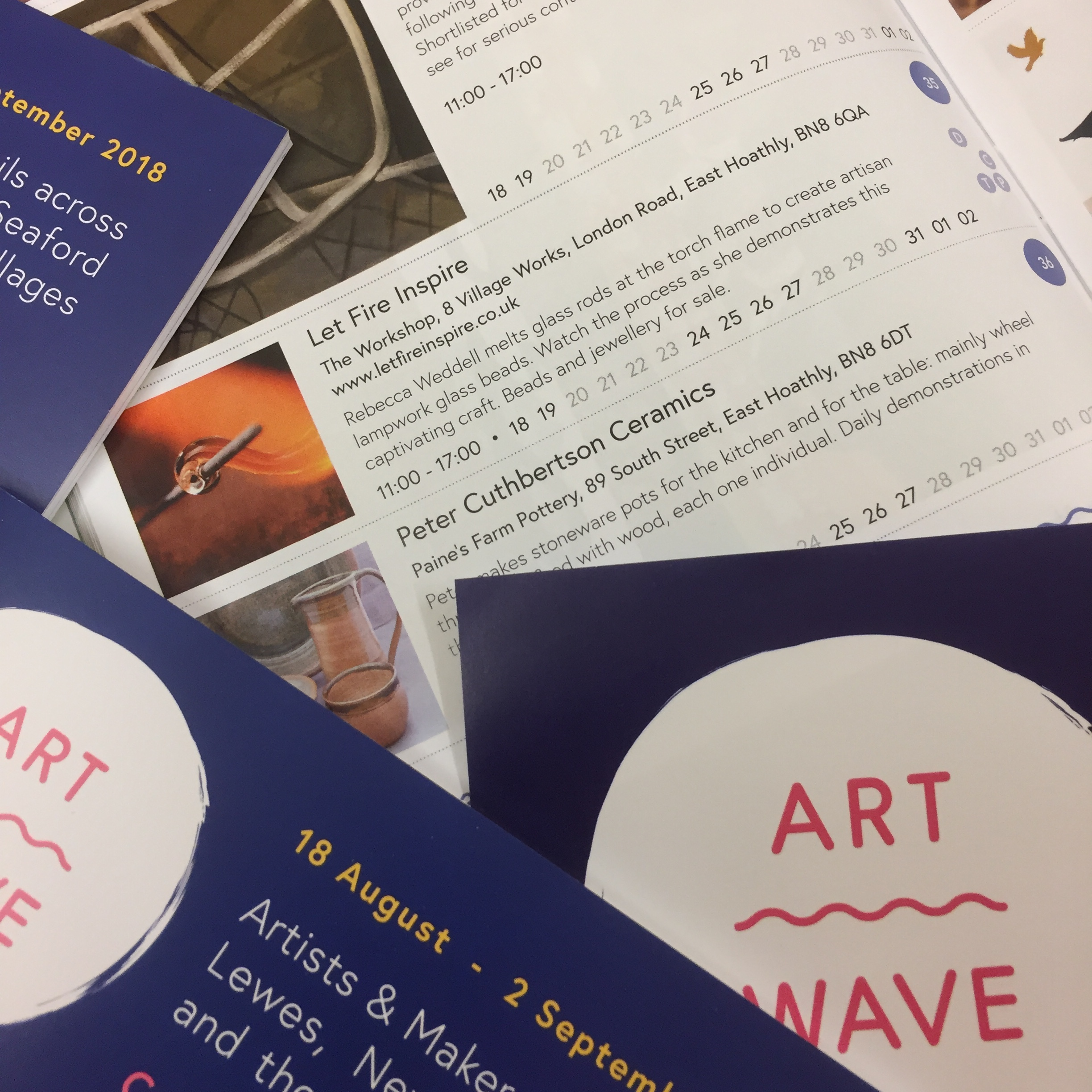 The official blurb - brochure, and posters.