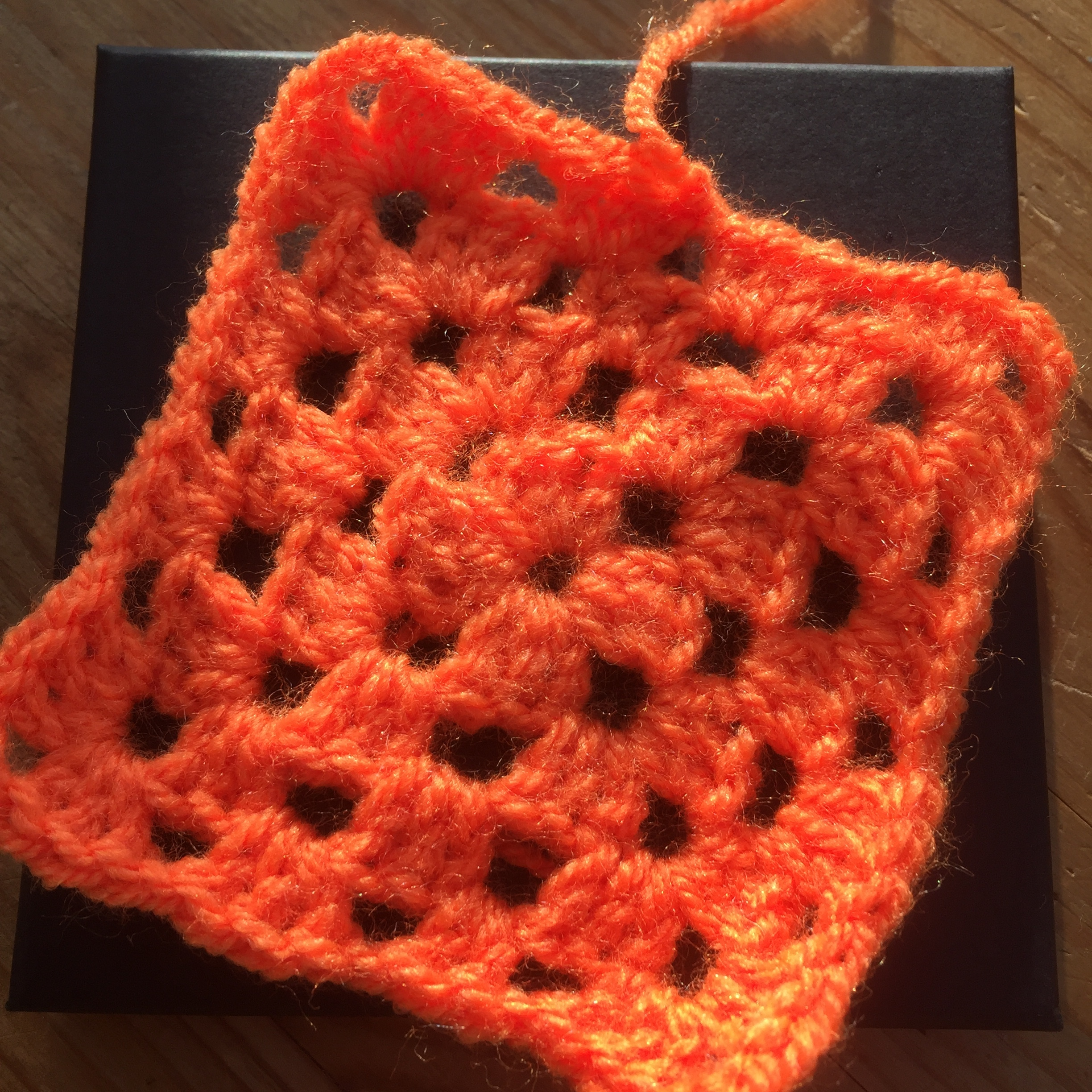 Number 3: My very own crochet granny square!