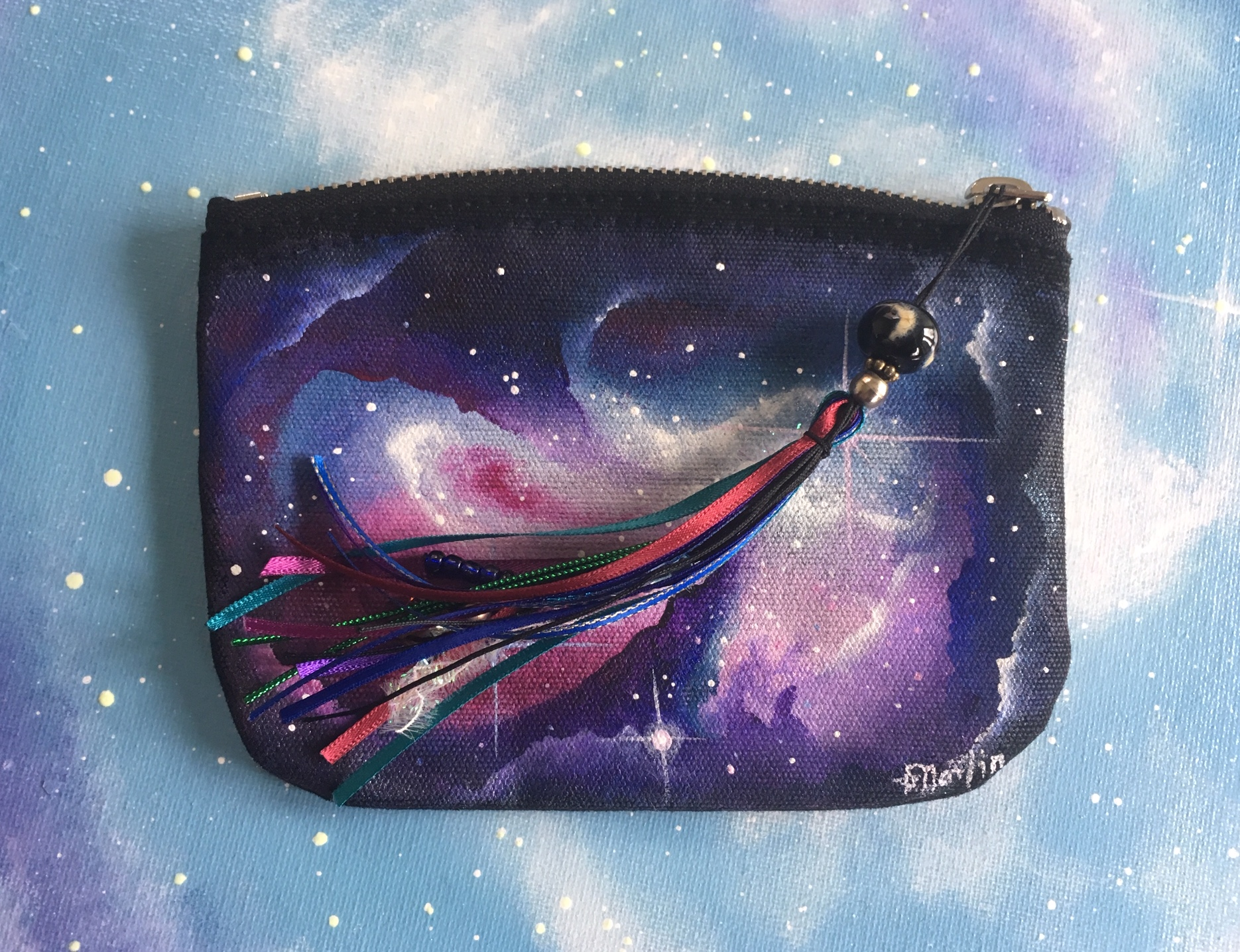 Here's the finished bag - mine! Image copyright Handmaiduns.