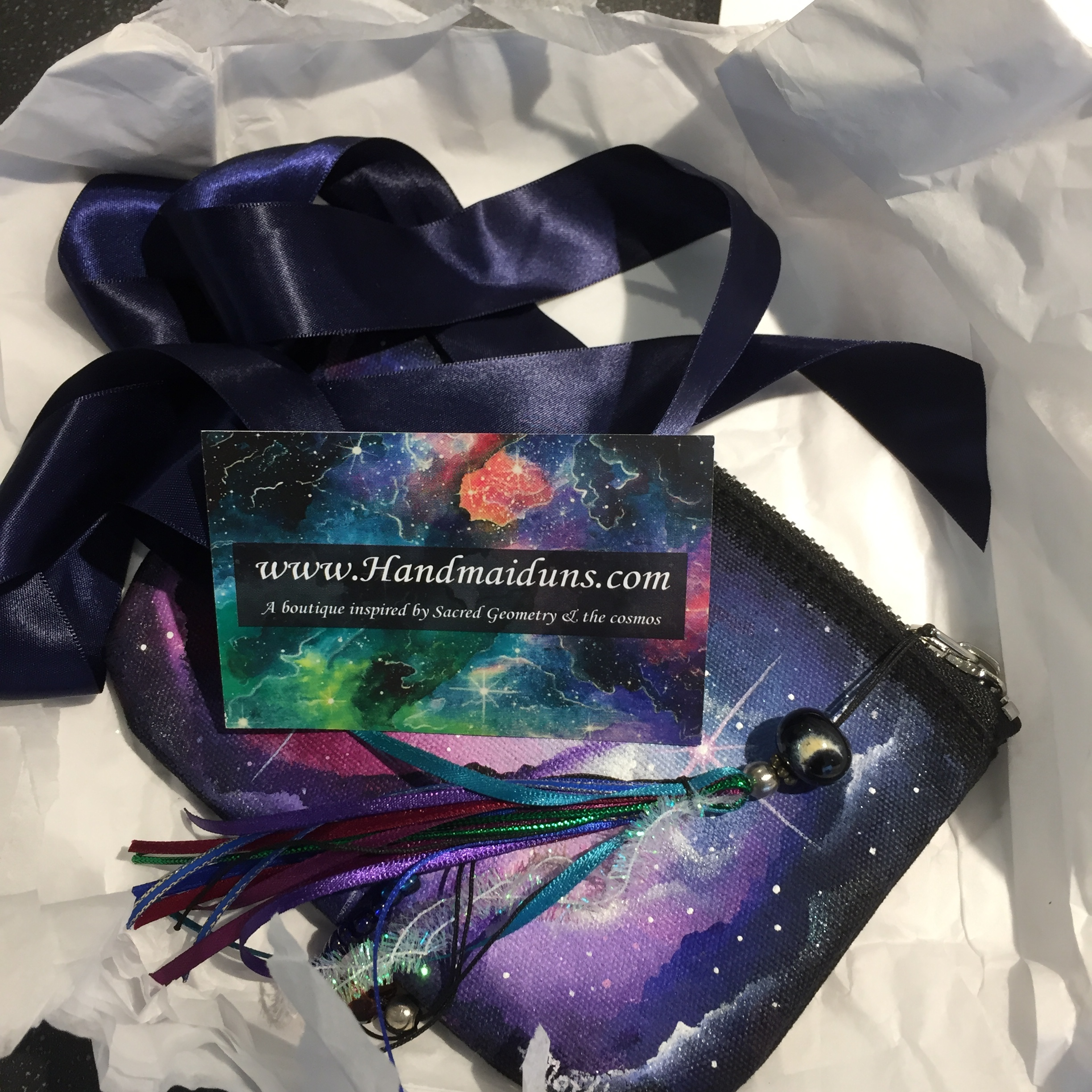 What a beautifully packaged parcel! I was in such a hurry to open it that I didn't snap it first - trust me, it was gorgeous even before this point!