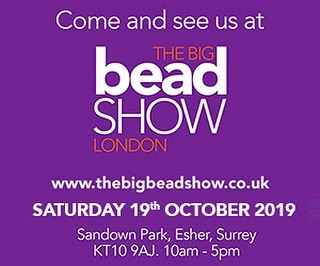 What are you up to tomorrow? Come to Sandown Park for the Big Bead Show - find 🔥 #letfireinspire #lampwork #glassbeads at stand 22! #handmadejewellery 👉 Links in bio ❤️