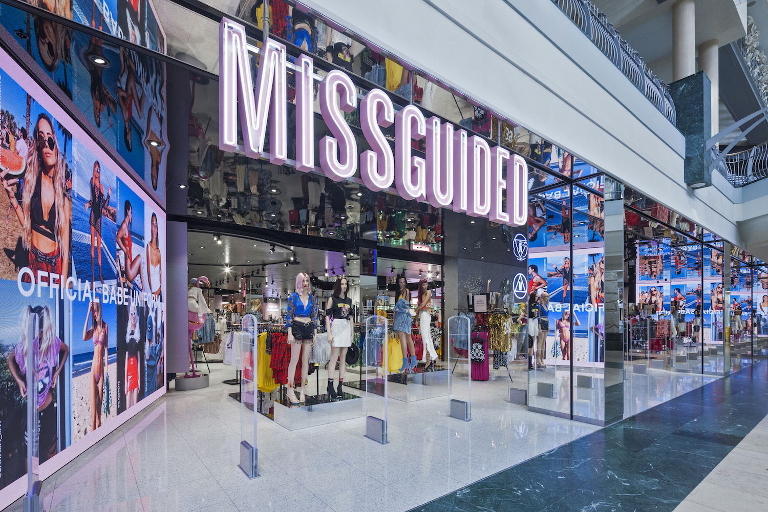 Window Displays Missguided
